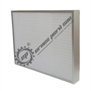 "FILTRO HEPA MINIPLEAT, 24""X24""X3"" (75 MM)"